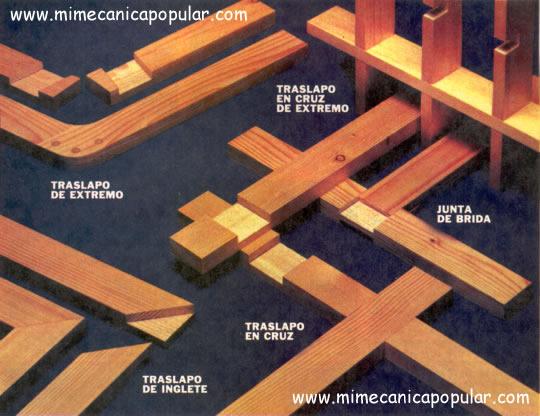 Proyectos De Carpinter 237 A Uniones De Traslapo Mi