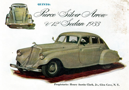 Quinto - Pierce Silver Arrow V12 Sedan 1933