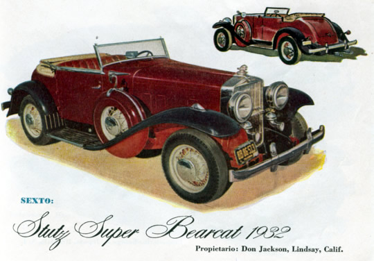 Sexto - Stutz Super Bearcat 1932