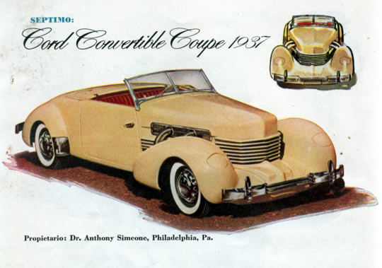 Septimo - Cord Convertible Coupe 1937