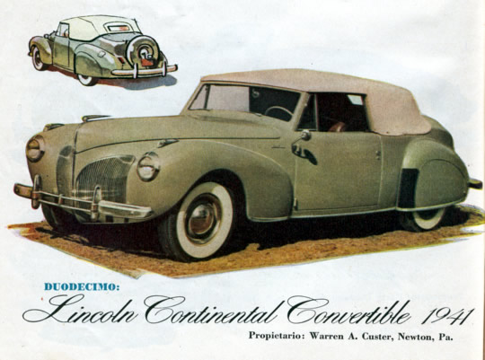 Duodecimo - Lincoln Continental Convertible 1941