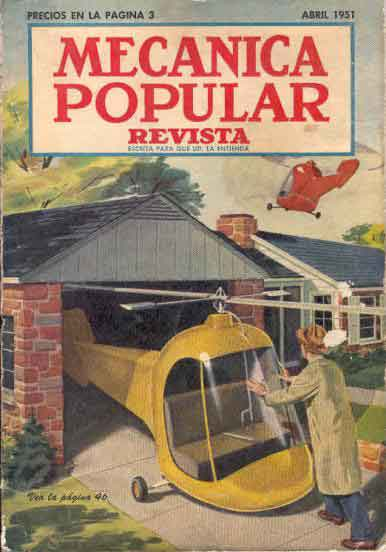 Mecánica Popular -  Abril 1951